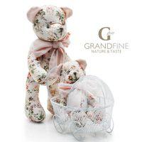 Cotton stuffed bearfabric baby kid toy doll small doll manufacturers with EN71 test report and CE ma