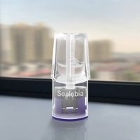 Closed Disposable Transparent Atomizer