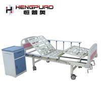 manufacturer wholesale medical cheap 2 crank manual hospital bed for sale