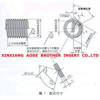 Stainless steel material 316 steel wire spiral sets