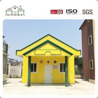 Simple Light Steel Small Prefabricated House Villa