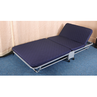 Adustable hotel folding bed with wheels