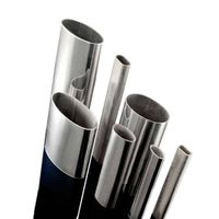 stainless steel oval pipe(egg pipe) ASTM A554