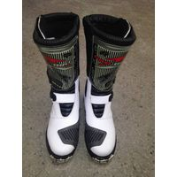 Spring,Autumn,Summer,Winter Rubber Outsole Material Motorcycle Sports Boots thumbnail image