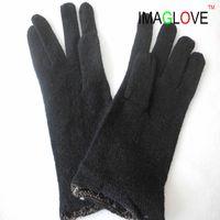 70% Wool 30% Nylon Knitted glove lining thumbnail image