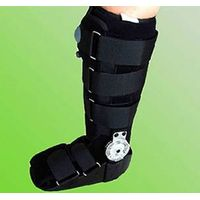 adjustable and inflatable walker brace
