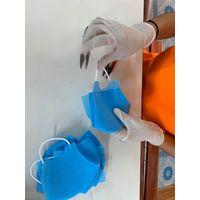 Anti bacterial face masks, waterproof, nonwoven, reusable