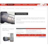 Composite hose fittings