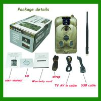 1080P waterproof SMS MMS hunting trail camera gprs hunting camera