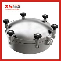 Stainless Steel SS304 316L Sanitary Round Pressure Manhole thumbnail image
