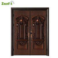 Zanfit customized villa double open bullet proof doors