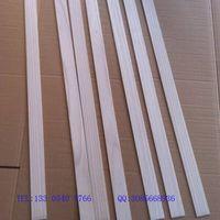 50mm Wood Shutter Slats, Wood Blind Slats, Paulownia Wood Slats for Shades thumbnail image