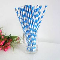 Drinking paper straw of nice designs