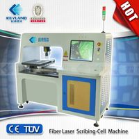 2014 CHINA Best-Selling Keyland Fiber laser scirbing-cell mahine/fiber laser scribing tools/scribing thumbnail image