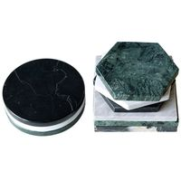 Natural Marble home accessories marble cup coaster