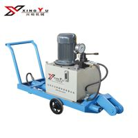 Tensioning machine for high power steel wire