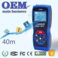 OEM 40m pocket portable digital mini protable precise cheap laser measuring distance meter