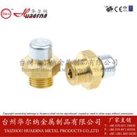 brass vent plug safety valves breather plugs vent screws bleed valve vent plugs
