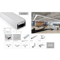 Corner connection LED profiles