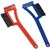 """15""""snow brush with rubber blade and ice chisel"""