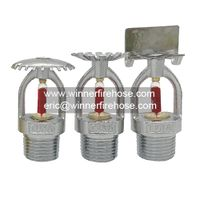 Automatic UL Listed Chromed Bronze Fire Fighting Sprinkler