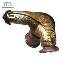 hot market For AUDI s4 304 stainless steel exhaust pipe