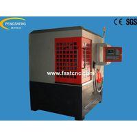 Full-enclosure metal mould cnc router