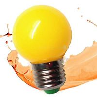Free Sample G45 0.5W led Bulb for holiday multicolor led bulb e27