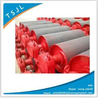 Conveyor snub pulley