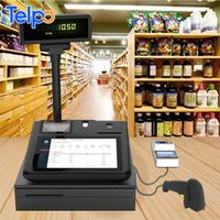 Telpo TPS520 10 inch Android Tablet POS with Thermal Printer Fingerprint Scanner and Barcode Reader thumbnail image