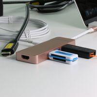 New electronics 2017 C800 PD charging typec hub with USB3.0 4 ports thumbnail image