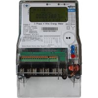 Kema Certified Dlms Compliant Three Phase Energy Meter Class 0.2s P2000-T