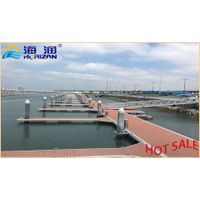 Low price and high quanlity floating pontoon in china