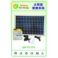 15w solar light kits solar lamp system