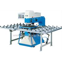 Model BZ0213 Glass Drilling Machine- pneumatic clamp