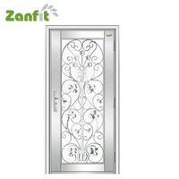 Zanfit entrance security stainless steel doors