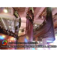 Soft LED Curtain with Slim shape design/waterproof/many special shapes