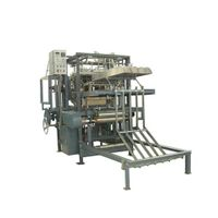 Gauze Sponge Folding Machine with un-folding edge