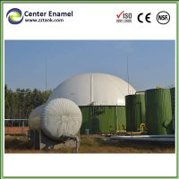 Glass Fused To Steel (GFS) Tank for Biogas Plant