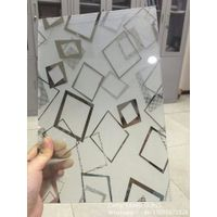 Acid Etched Glass , Frosted Glass