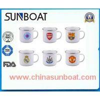 customized logo printed enamel mug thumbnail image