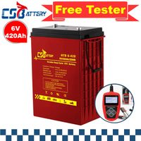 Csbattery 6V420ah Power Storage Gel Battery for Marine/Solar-Panel/PV/Rechargeable/Automotive-Vehicl thumbnail image