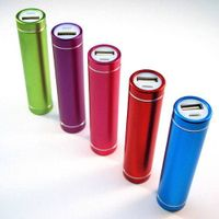 2600mah Cylinder Power Bank USB Battery Charger