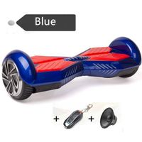 Bluetooth Two Wheels 8 inch Electric Scooter with Remote Control Key 4400mah lithium battery LED lig