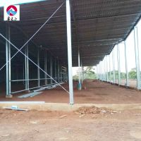 10 continued spans large steel structure ingredient prefab warehouse
