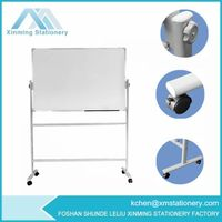 Oval Double Tubes Magnetic Whiteboard Stand thumbnail image