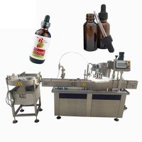 Cbd Oil Filling Machine Liquid Filling And Capping Machine