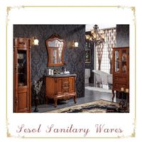 Functional classical hand carving bathroom furniture thumbnail image