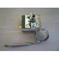 UL and CE Approved Capillary Water Heater Thermostat