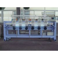 Cylinder type multi head embroidery machine